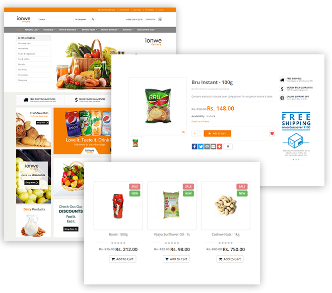 Best eCommerce platform for small business - ionwe eCommerce