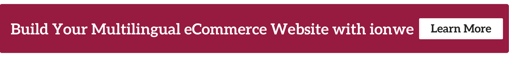 Build Your Multilingual eCommerce Website with ionwe